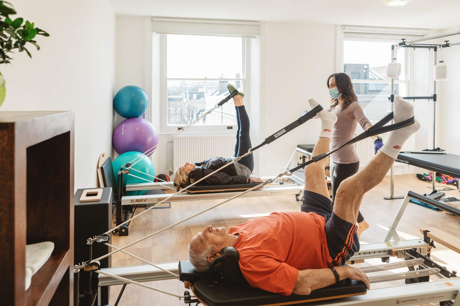 Pilates for Seniors Wellthy Clinic